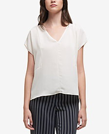 DKNY Georgette High-Low Top, Created for Macy's