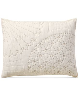 Sashiko Standard Sham, Created for Macy's