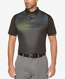 PGA TOUR Men's Ragland Printed Golf Polo
