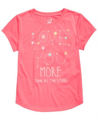 Graphic-Print Pajama Shirt, Little Girls & Big Girls, Created for Macy's
