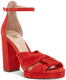 Vince Camuto Corlesta Knotted Platform Dress Sandals