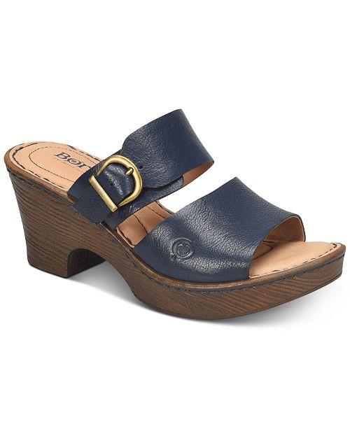 ced76dc405c6 Born Carrabelle Wedge Sandals   Reviews - Sandals   Flip Flops ...