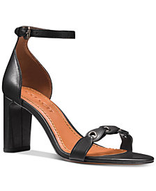 COACH Two-Piece Dress Sandals