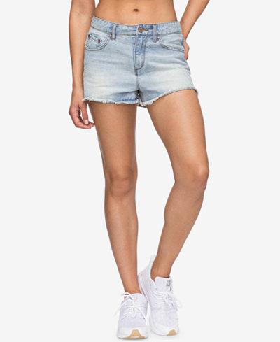 Roxy Juniors' Little Abaco Denim Shorts