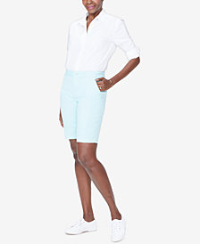 NYDJ Mid-Rise Bermuda Shorts