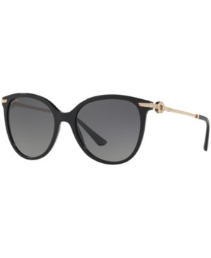 BVLGARI Bv8188B Serpenti Butterfly-Frame Sunglasses in Black