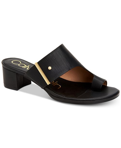 Calvin Klein Women's Daria Dress Sandals, Created For Macy's
