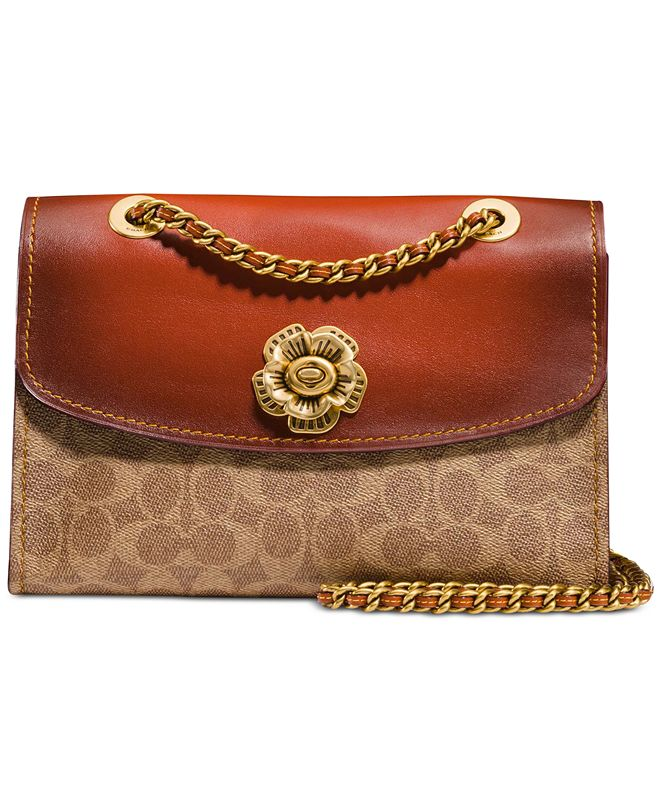 COACH Signature Parker Shoulder Bag