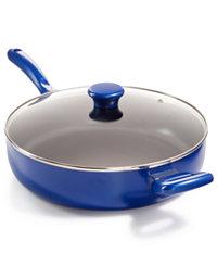 Martha Stewart Non-Stick 5-Qt. Chef Pan & Lid (Multiple Colors)