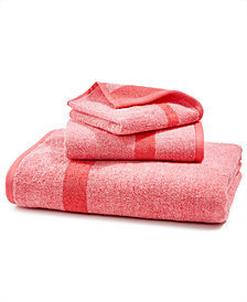 LAST ACT! Juliette LaBlanc Mingle Cotton Reversible Yarn-Dyed Fashion Bath Towel