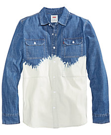 Levi's® Men's Bleach Dip Denim Shirt