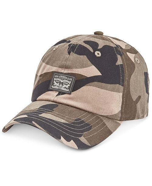 Levi s Men s Camo Snapback Baseball Hat - Hats 7dc34c39519