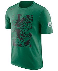 Nike Men's Boston Celtics Cropped Logo T-Shirt