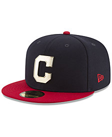 New Era Cleveland Indians Golden Finish 59FIFTY Cap