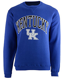J America Men's Kentucky Wildcats Crew Neck Sweatshirt