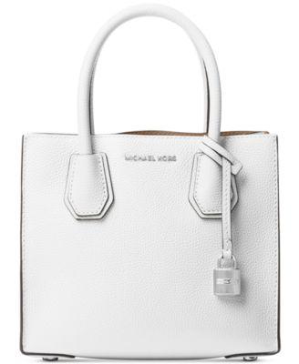 michael kors mercer pebble leather crossbody handbags rh macys com