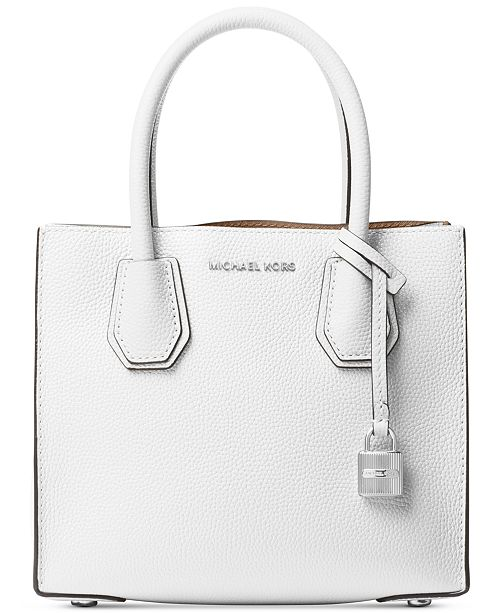 f672e3eefadb Michael Kors Mercer Pebble Leather Crossbody & Reviews ...