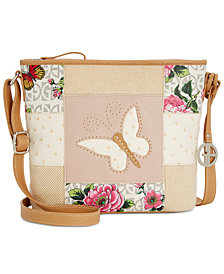 Giani Bernini Patchwork Crossbody, Created for Macy's