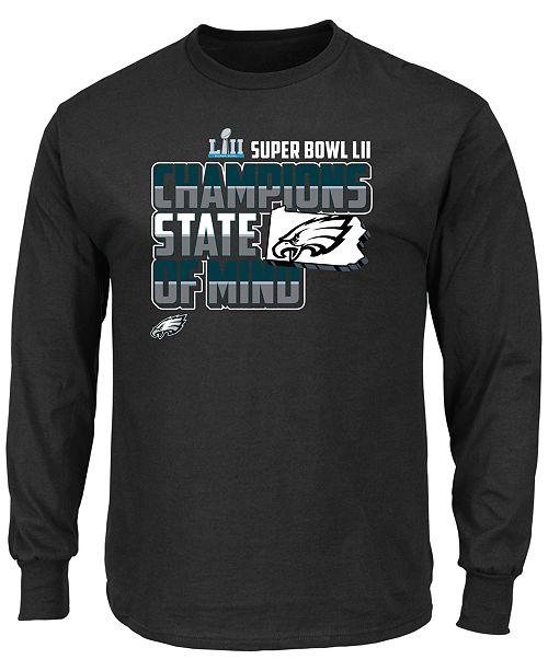 Authentic NFL Apparel Men s Philadelphia Eagles Super Bowl LII Champ ... cbb204ca7a11