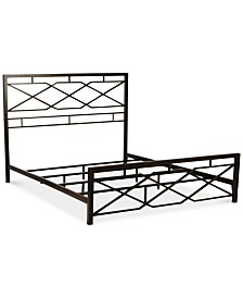 Alpine Full Metal Bed, Quick Ship