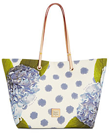 Dooney & Bourke Addison Flower Medium Tote