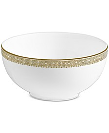 Dinnerware, Lace Gold Soup/Cereal Bowl