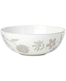 kate spade new york Spring Street Flax Serving Bowl