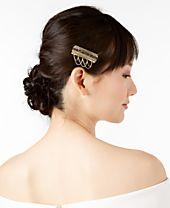 I.N.C. Gold-Tone Stone Multi-Chain Hair Clip, Created for Macy's