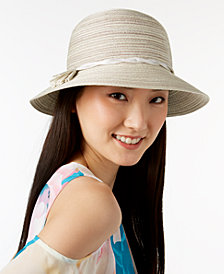August Hats Tassel Woven Cloche