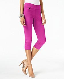 Petite Tummy-Control Pull-On Capri Pants, Created for Macy's