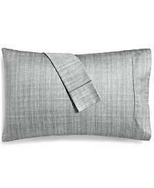 CLOSEOUT! Hotel Collection Modern Grid Cotton 525-Thread Count 2-Pc. King Pillowcase Set, Created for Macy's