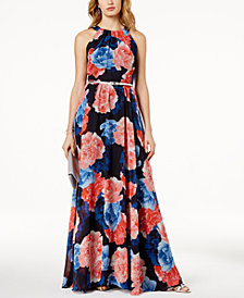 I.N.C. Petite Floral-Print Maxi Dress, Created for Macy's