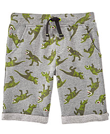 Epic Threads Dino-Print Knit Shorts, Toddler Boys, Created for Macy's