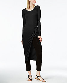 Bar III Ruched Tunic, Created for Macy's