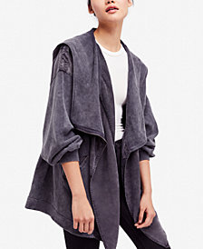 Free People Cotton Oversized Hoodie