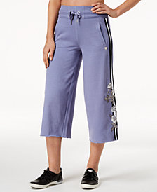 Calvin Klein Performance Wide-Leg Culotte Pants