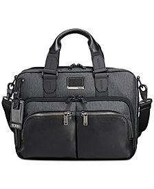 Tumi Men's Alpha Bravo Albany Slim Briefcase