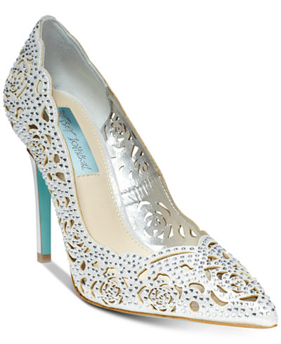 Blue by Betsey Johnson Elsa Evening Pumps