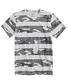 American Rag Men's Camo Stripe T-Shirt, Created for Macy's