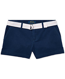 Ralph Lauren Big Girls Chino Shorts