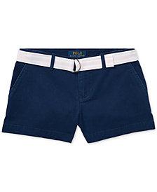 Ralph Lauren Big Girls Chino Shorts