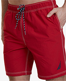 "Nautica Men's Big & Tall Quick Dry J Class 8"" Swim Trunks"