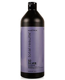 Matrix Total Results So Silver Shampoo, 33.8-oz., from PUREBEAUTY Salon & Spa