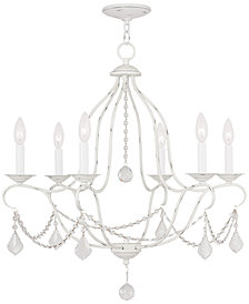 "Livex Chesterfield 26"" Chandelier"