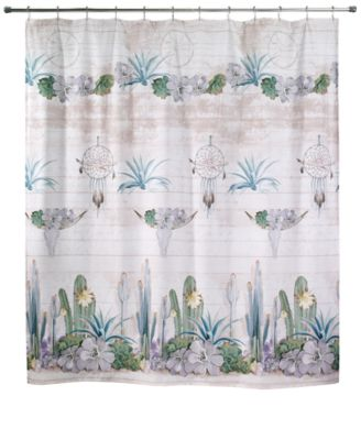 """Canyon 72"""" x 72"""" Graphic-Print Shower Curtain"""