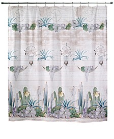 "Canyon 72"" x 72"" Graphic-Print Shower Curtain"