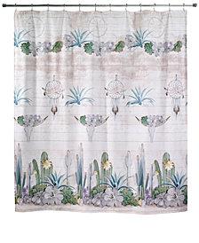 "Avanti Canyon 72"" x 72"" Graphic-Print Shower Curtain"