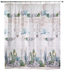 "Avanti Canyon 72"" x 72"" Graphic-Print Shower Curtain"