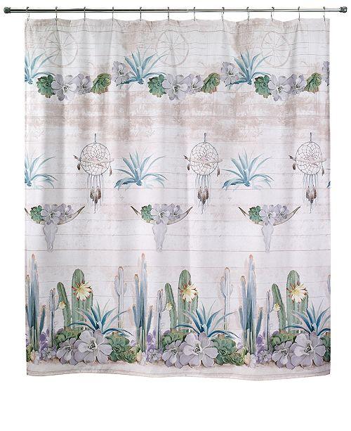 Avanti Canyon 72 X Graphic Print Shower Curtain