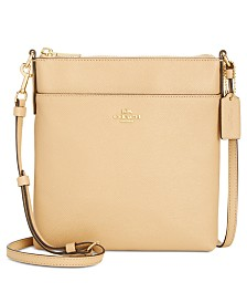 COACH Courier Crossbody in Crossgrain Leather